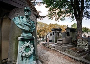 Père Lachaise Cemetery, Paris.